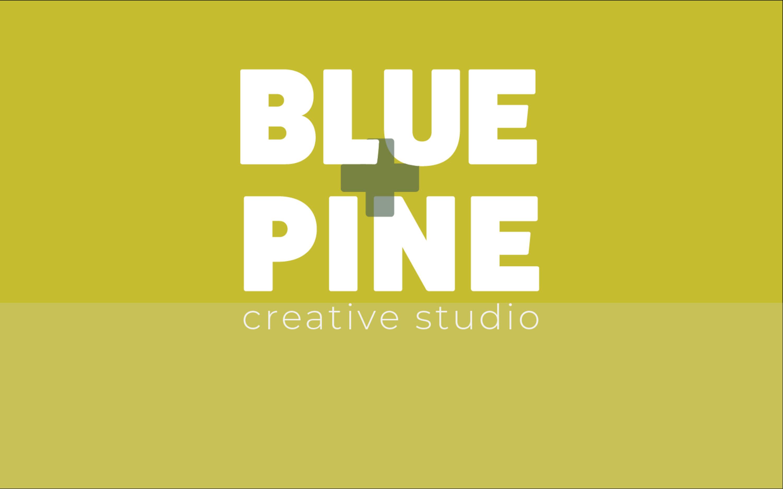 Blue + Pine